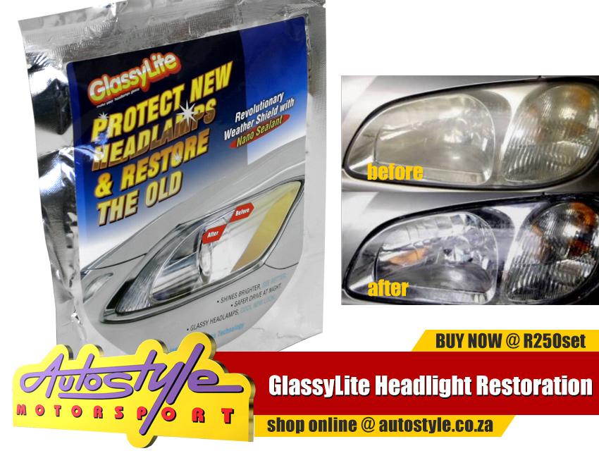 GlassyLite Headlight Restoration Kit