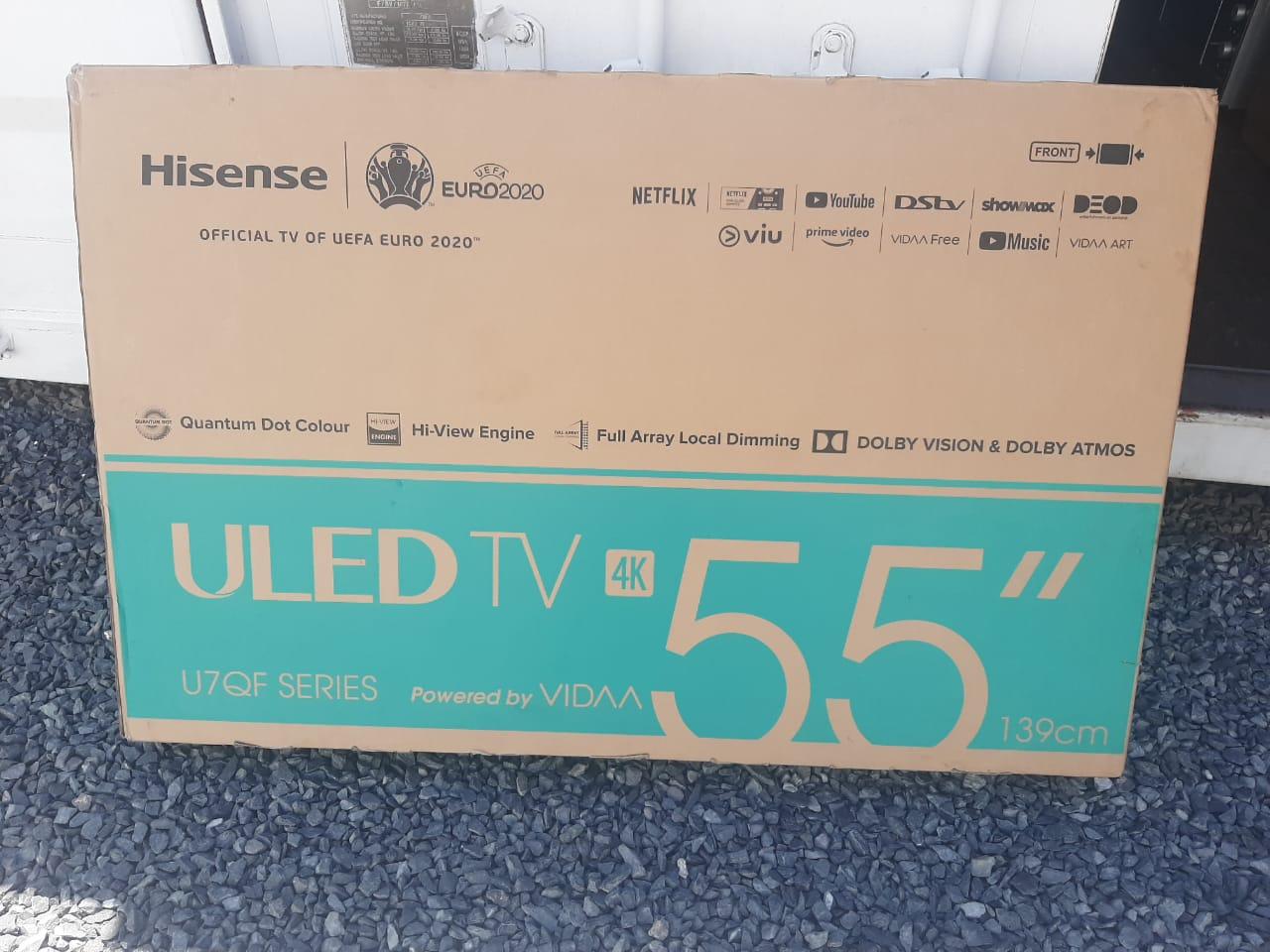 "HISENSE 55"" ULED SMART TV"