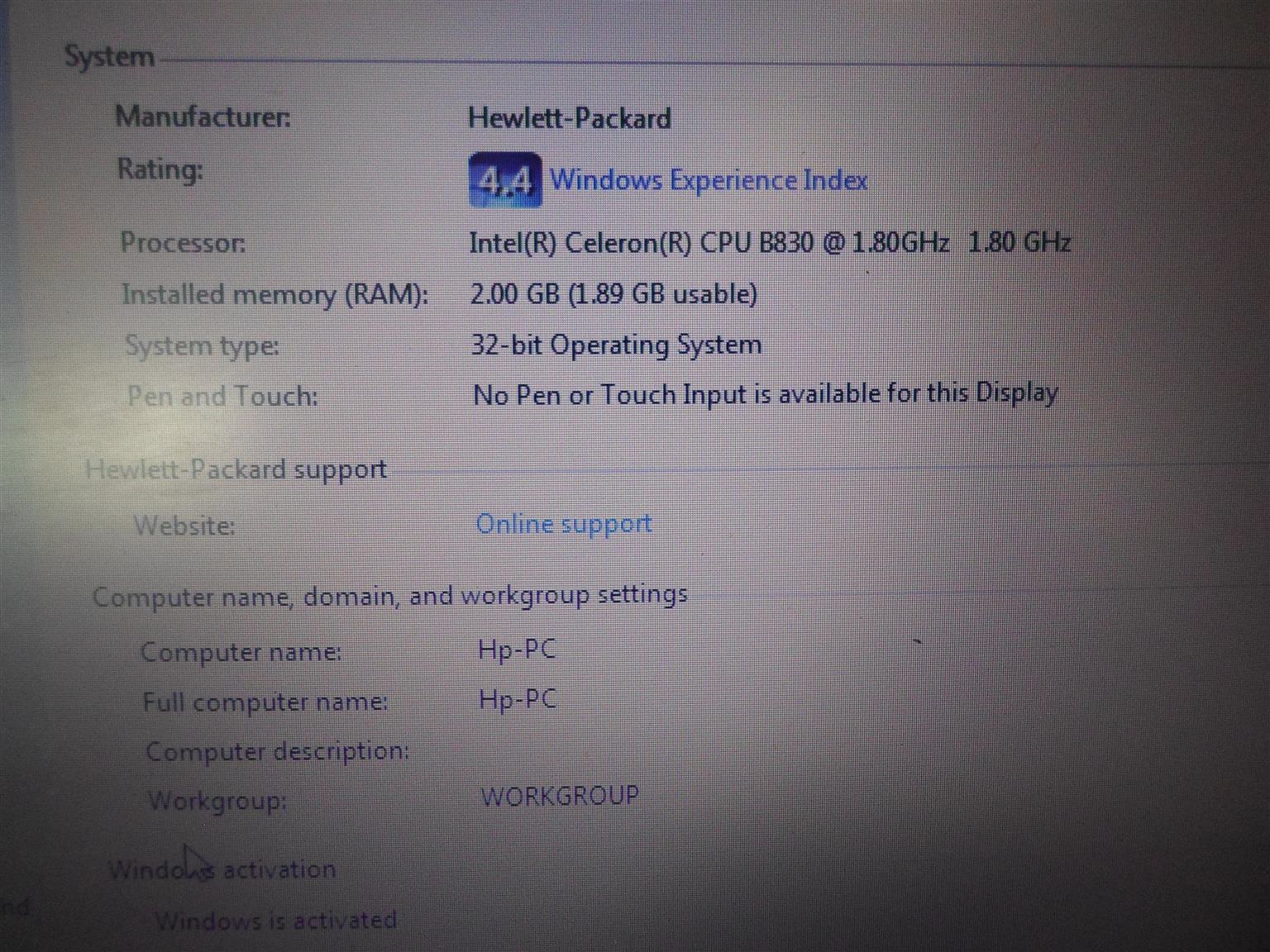 HP Laptop-