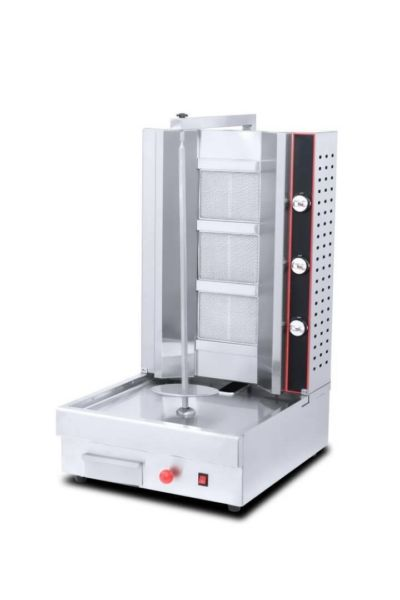 SHAWARMA MACHINE FOR SALE - ELECTRIC AND GAS SHAWARMA MAKING MACHINE - SHAWARMA ROTISSERIE EQUIPMENT