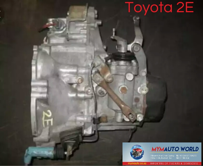 Imported used TOYOTA 2E AUTOMATIC gearbox Complete