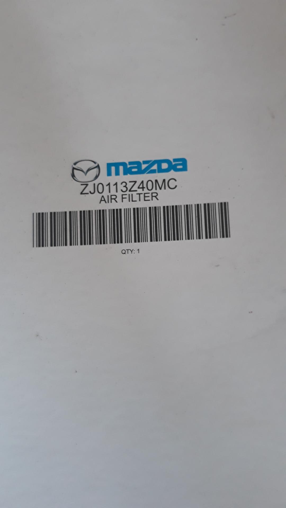 Mazda service kit