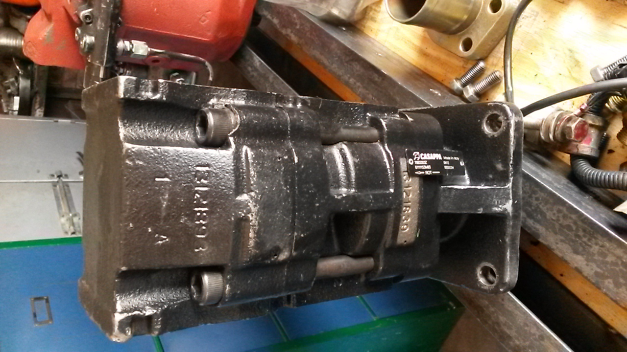 Terex 860 Hydraulic Pump - Reconditioned and Tested