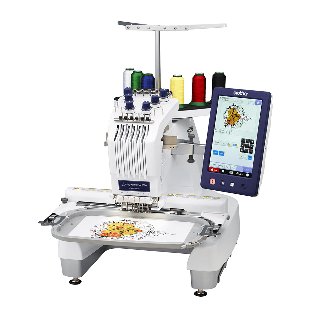 Brother PR670EC ^needle Embroidery machine