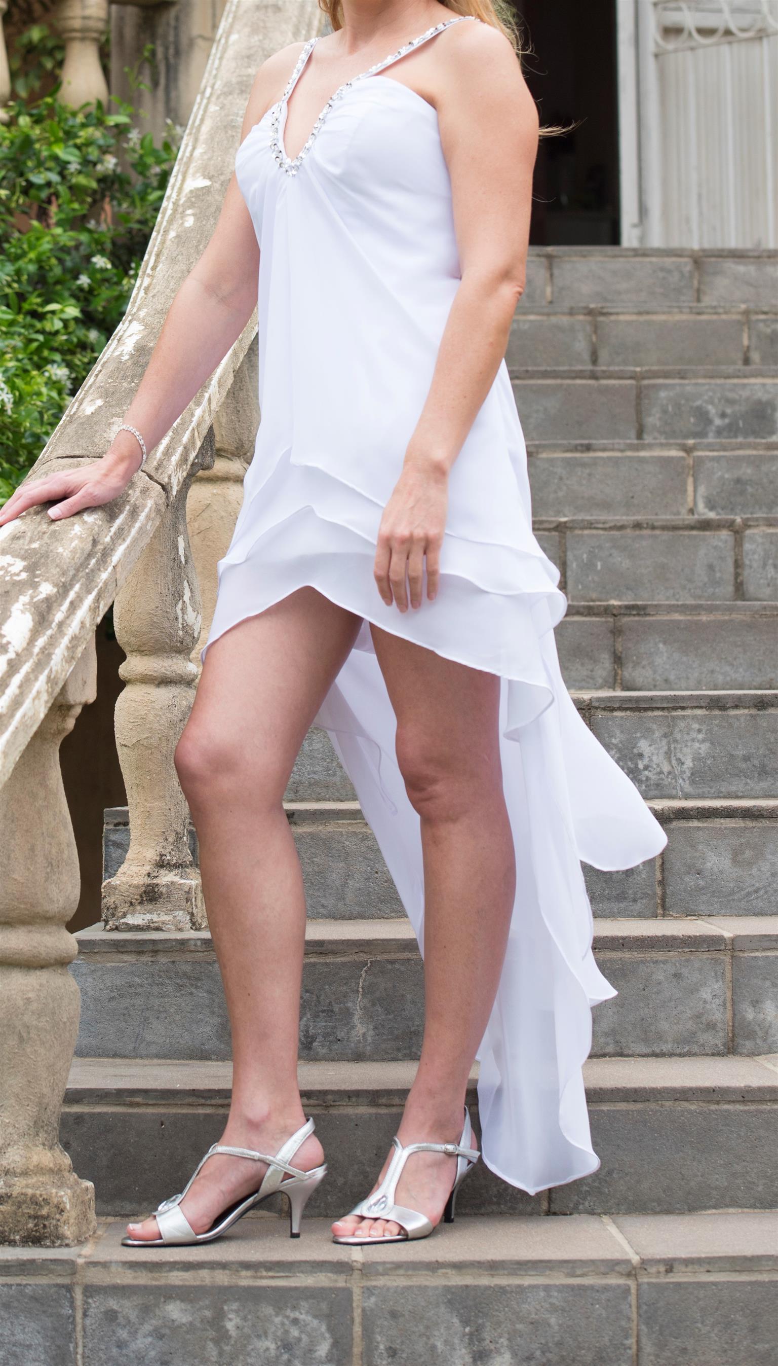 Wedding dress or Matric farewell dress size 8/10
