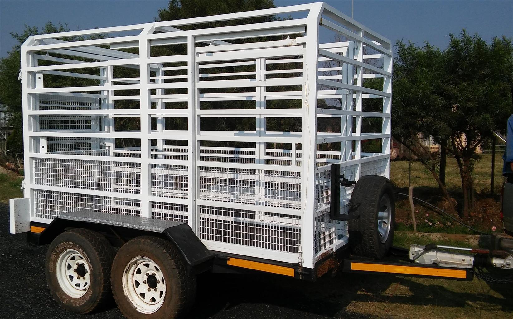 Torsion Cattle Trailer