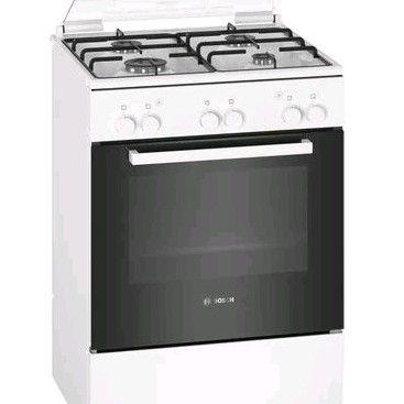 Bosch Serie   2 Freestanding Gas Cooker White
