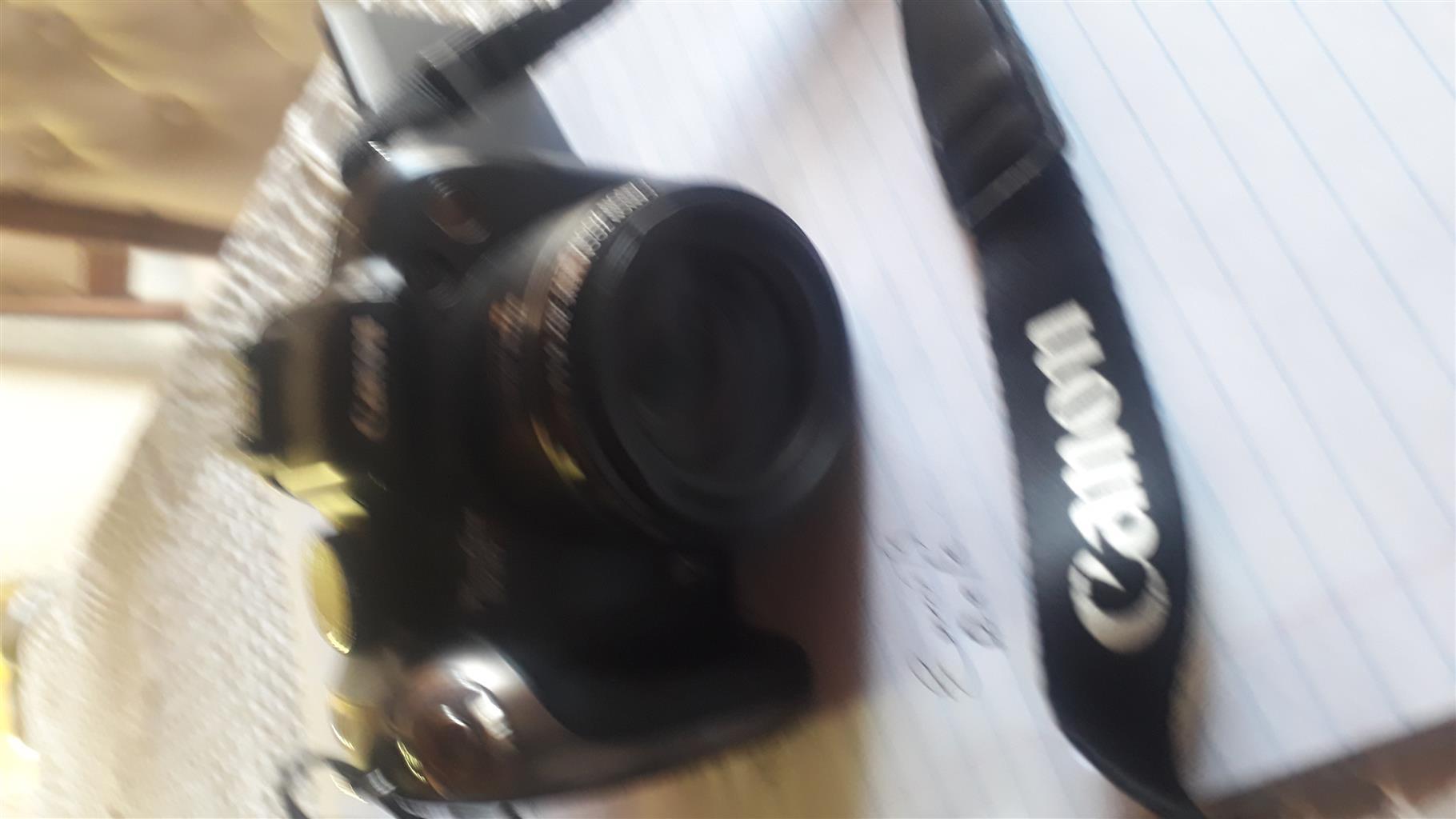 Canon Power Shot. Image stabilizer