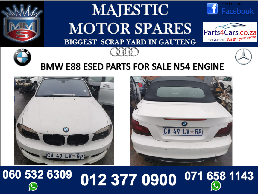 Bmw E88 Stripping For Spares Junk Mail