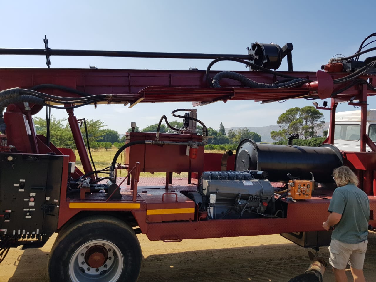 Water Rig Truck for Sale - Water & Mine Drilling
