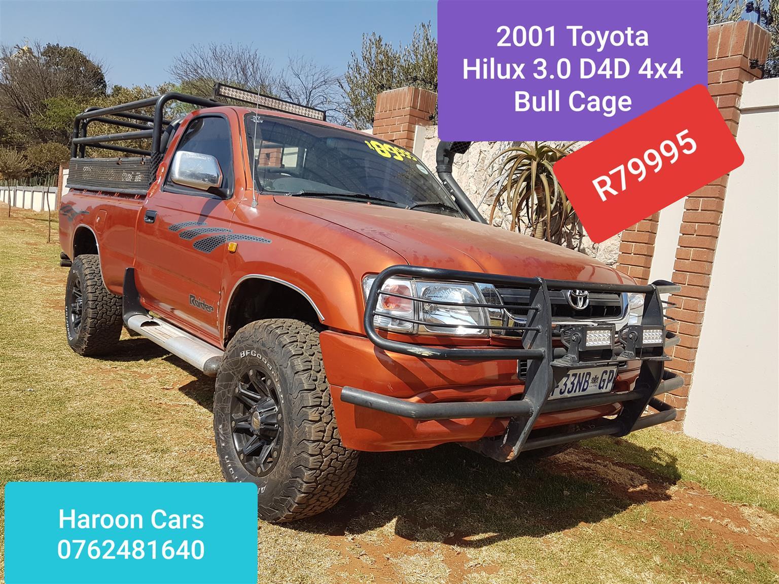 2001 Toyota Hilux single cab HILUX 2.8 GD 6 RB RAIDER P/U S/C