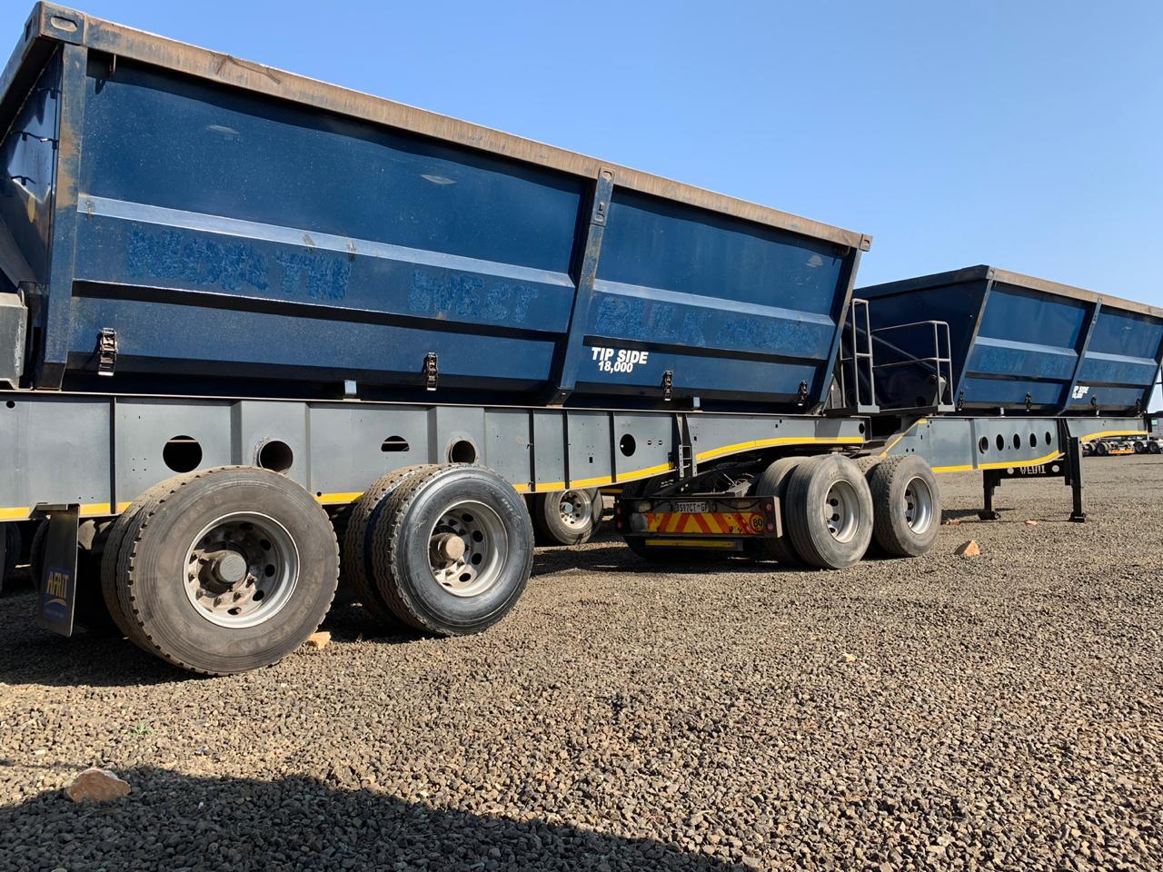 Side tipper trailers sale