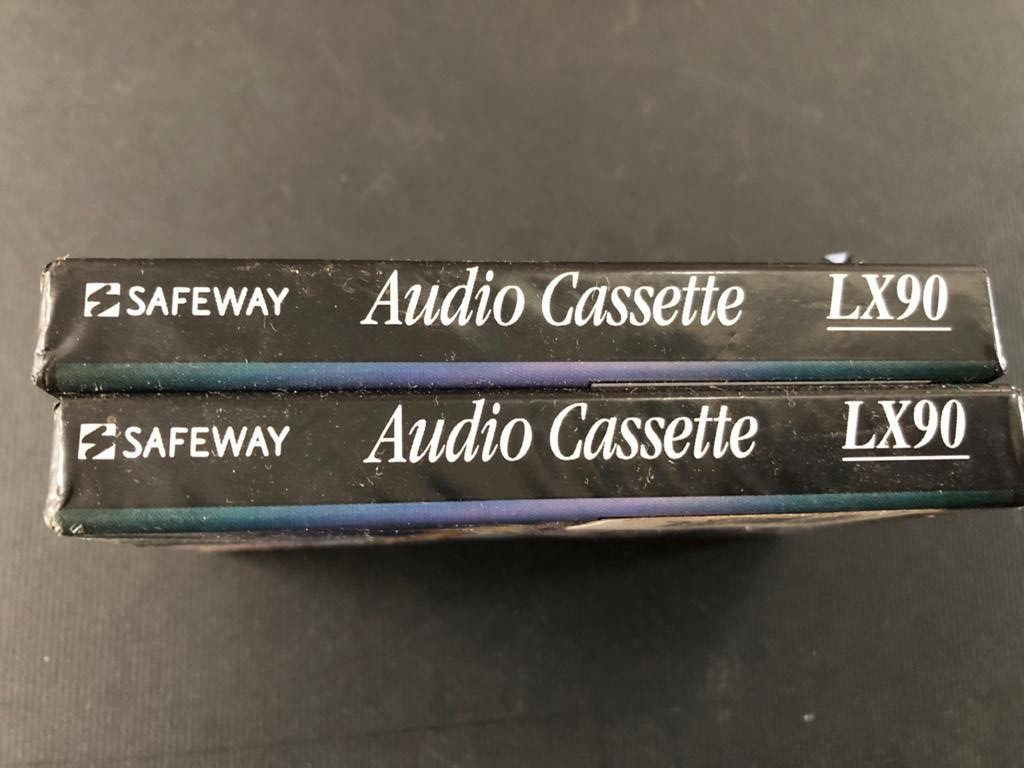 2 x Brand new and sealed 4 Track Audio cassettes C-90