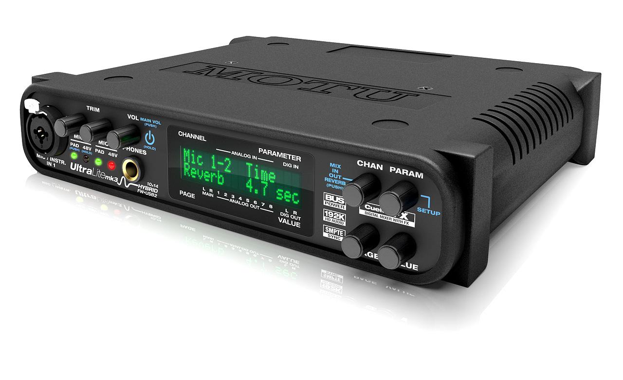 MOTU Ultralite-mk3 Hybrid FireWire and USB 2.0 Audio Interface