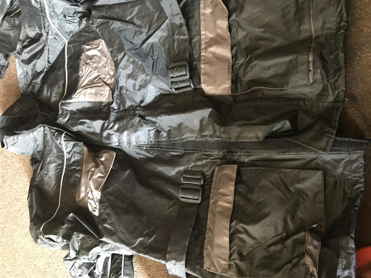 Assault Greyish Rain suit(jacket and pants)