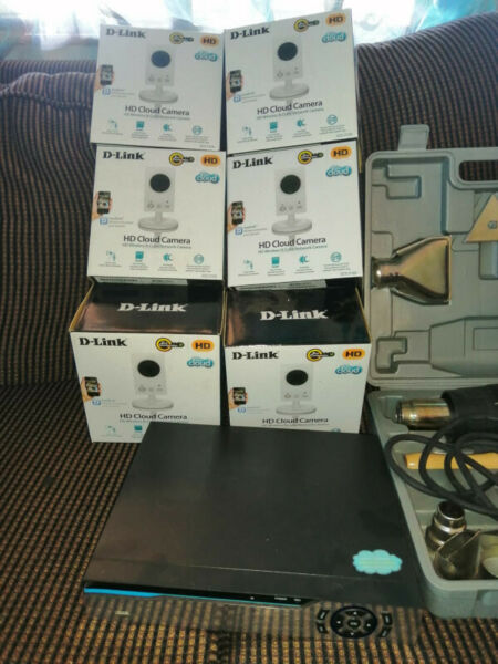 Wireless surveillance with Infrared and voice recordings. Brand new, in boxes.