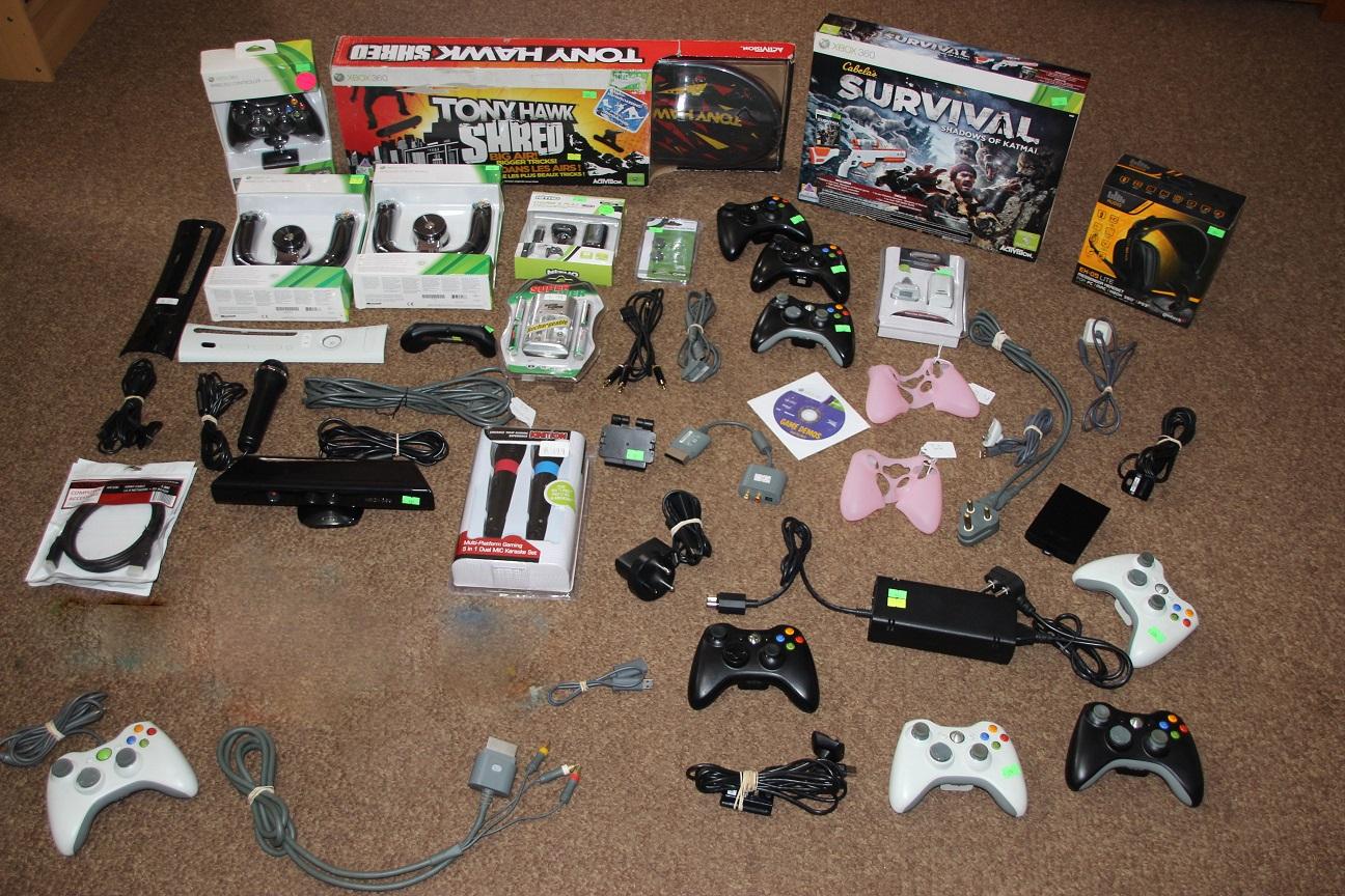 Xbox 360 original Games & accessories sold separately
