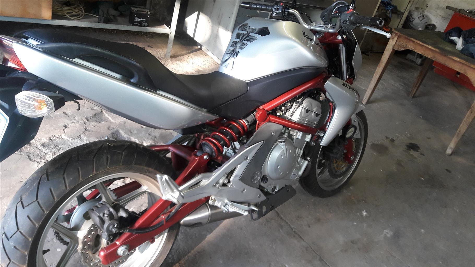 2006 Kawasaki Er6n Junk Mail