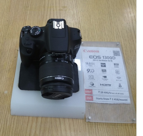 canon eos 1300d / 18-55mm lens
