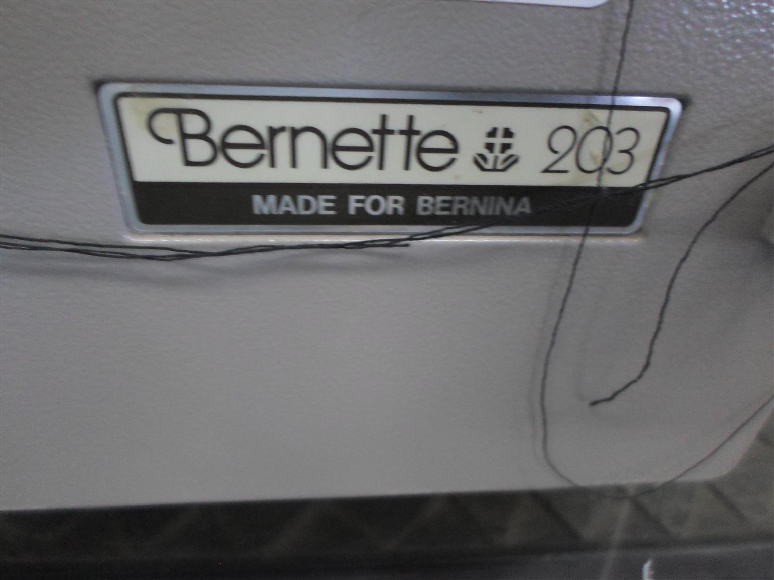Bernette 203 Overlocker