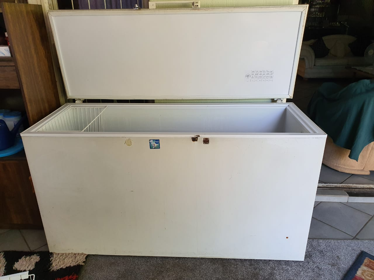 White Freezer for sale by owner