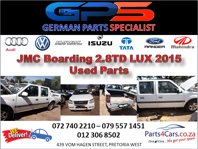 JMC Boarding 2.8TD LUX 2015 Used Spares for Sale