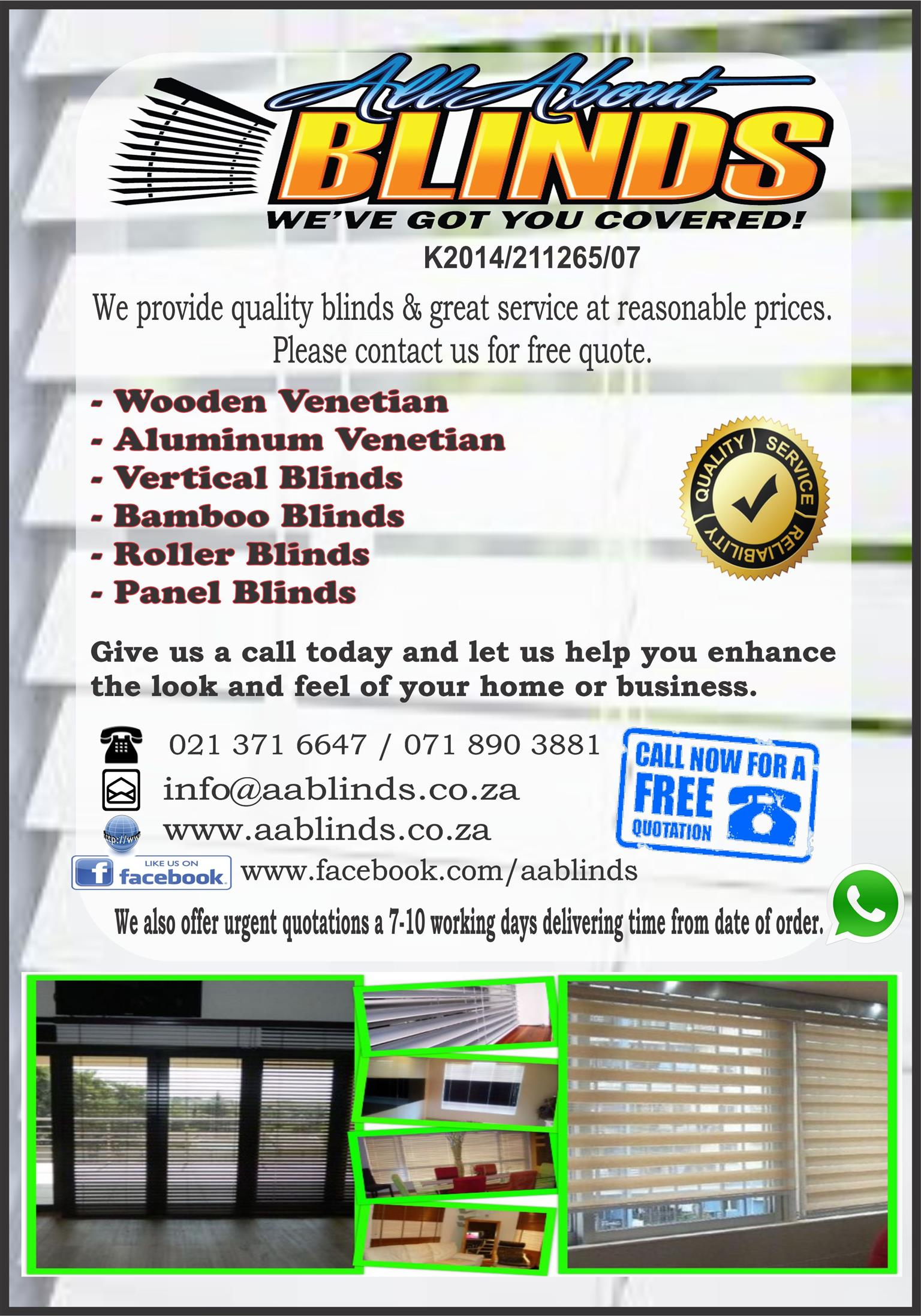 All About Blinds Junk Mail