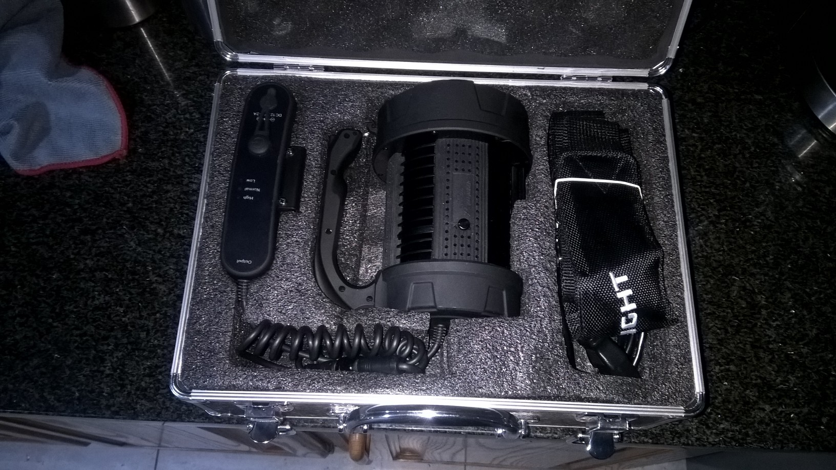 O-light X 6 Marauder monster search and rescue flashlight .