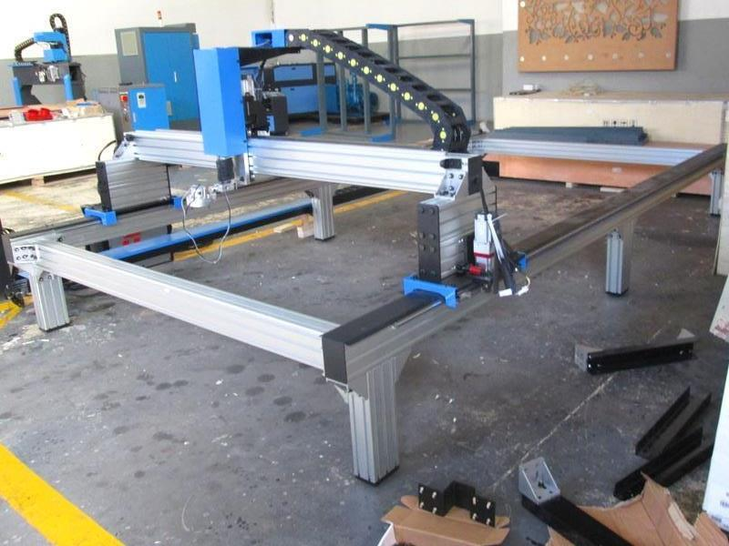 P-1325TMF MetalWise Standard CNC Plasma Cutting Table 1300x2500mm, Stepper Motors