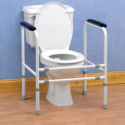 Toilet Safety Frame - Stand Alone - ON SALE. WHILE STOCKS LAST