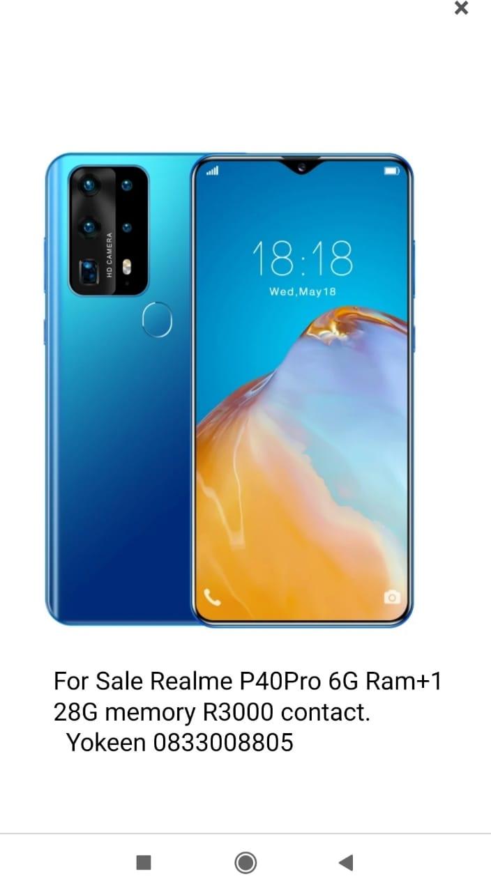 Realme P40Pro cellphone
