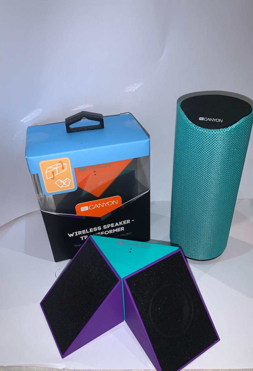 Canyon bluetooth speakers transformers