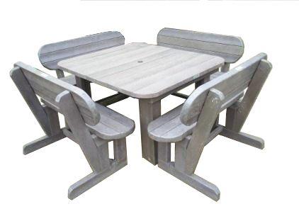 Recyceld Plastic Outdoor Garden,Lapa and Patio Furniture