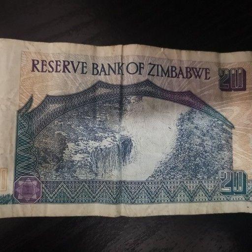 Old 20 Dollar Bill 1997