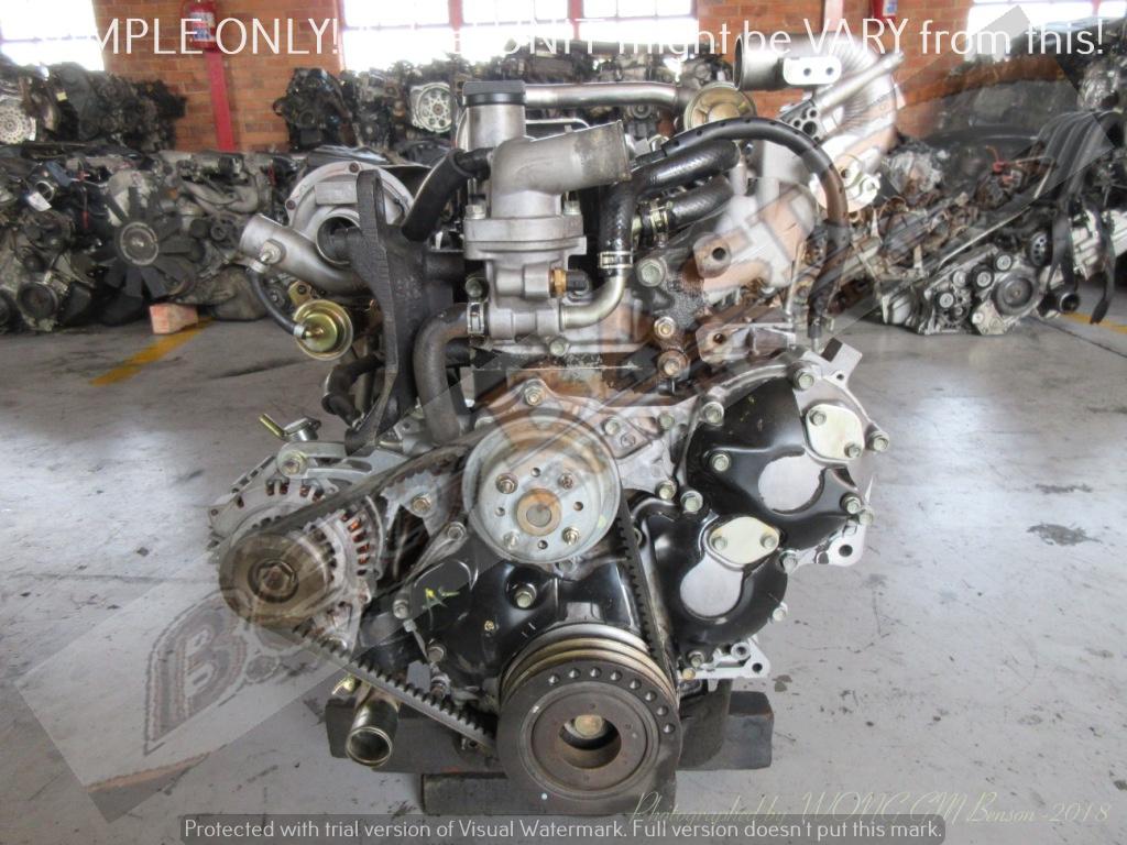 ISUZU KB300 -4JH1 3 0L TURBO DIESEL EFI 16V Engine -COMMON