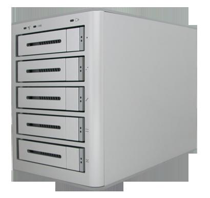 "miniEPICa Series EP-D501-AA3.5"" Desktop 5 Bays eSATA / USB 2.0 + 1394b"