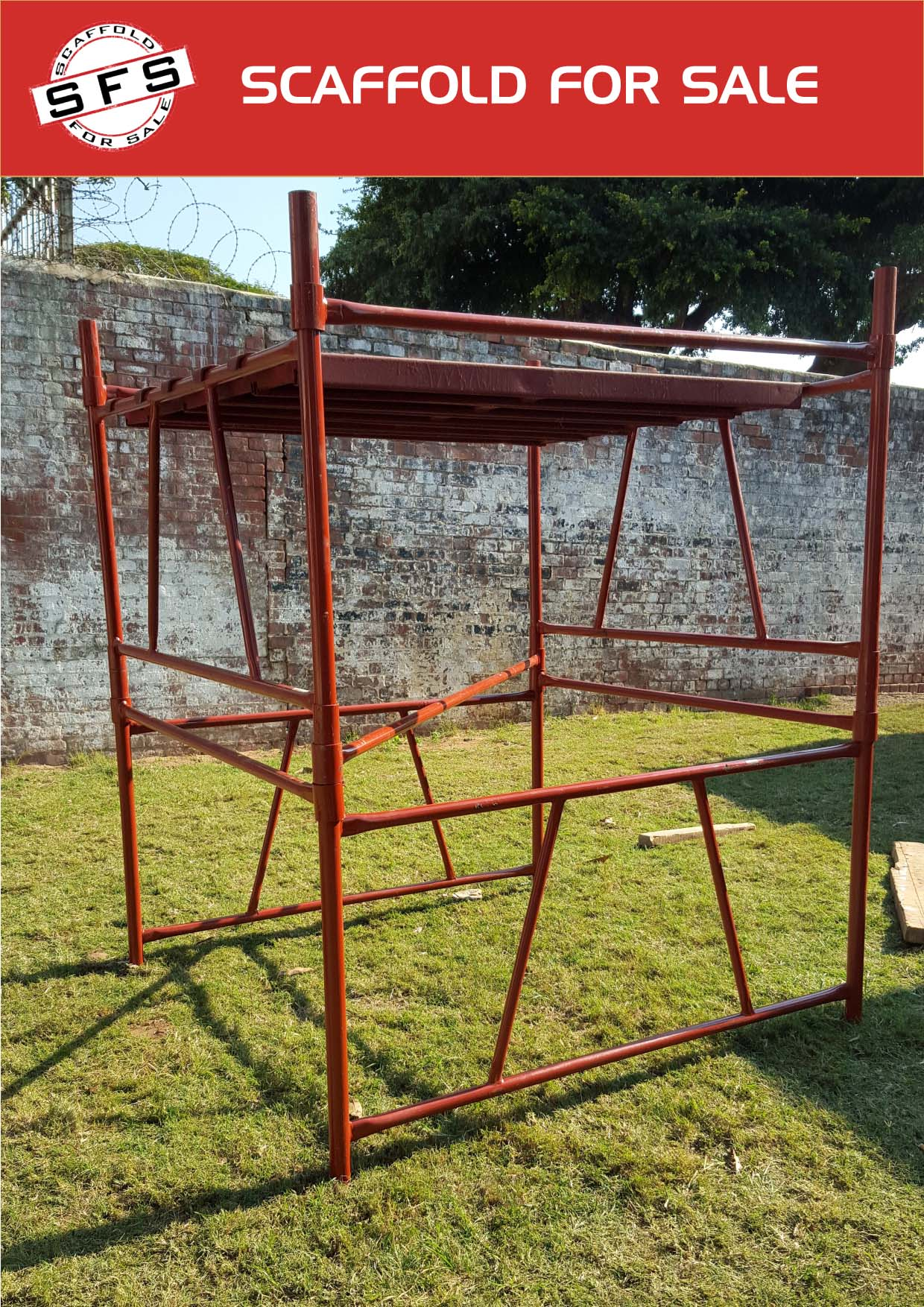 scaffold for sale and hire Durban kwikstage and H frame Scaffolding