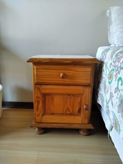 Pine Dressing Table and 2 bedside tables