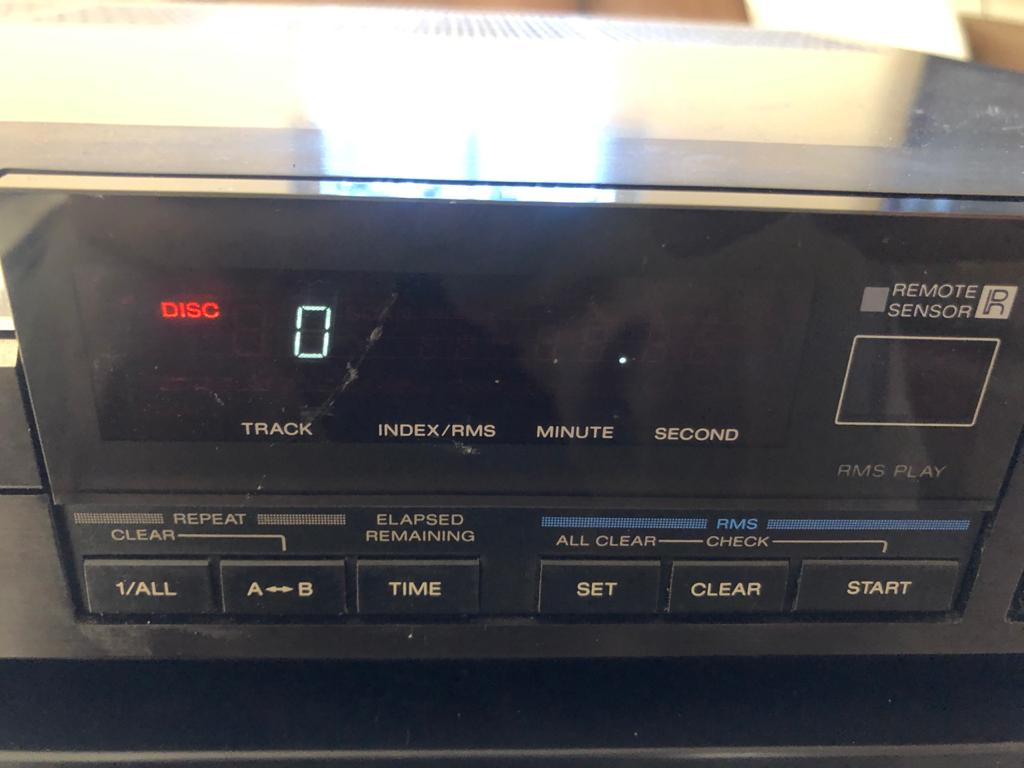 Sony CDP-302ES - Stereo Compact Disc Player - SOLD FOR SPARES/PROJECT