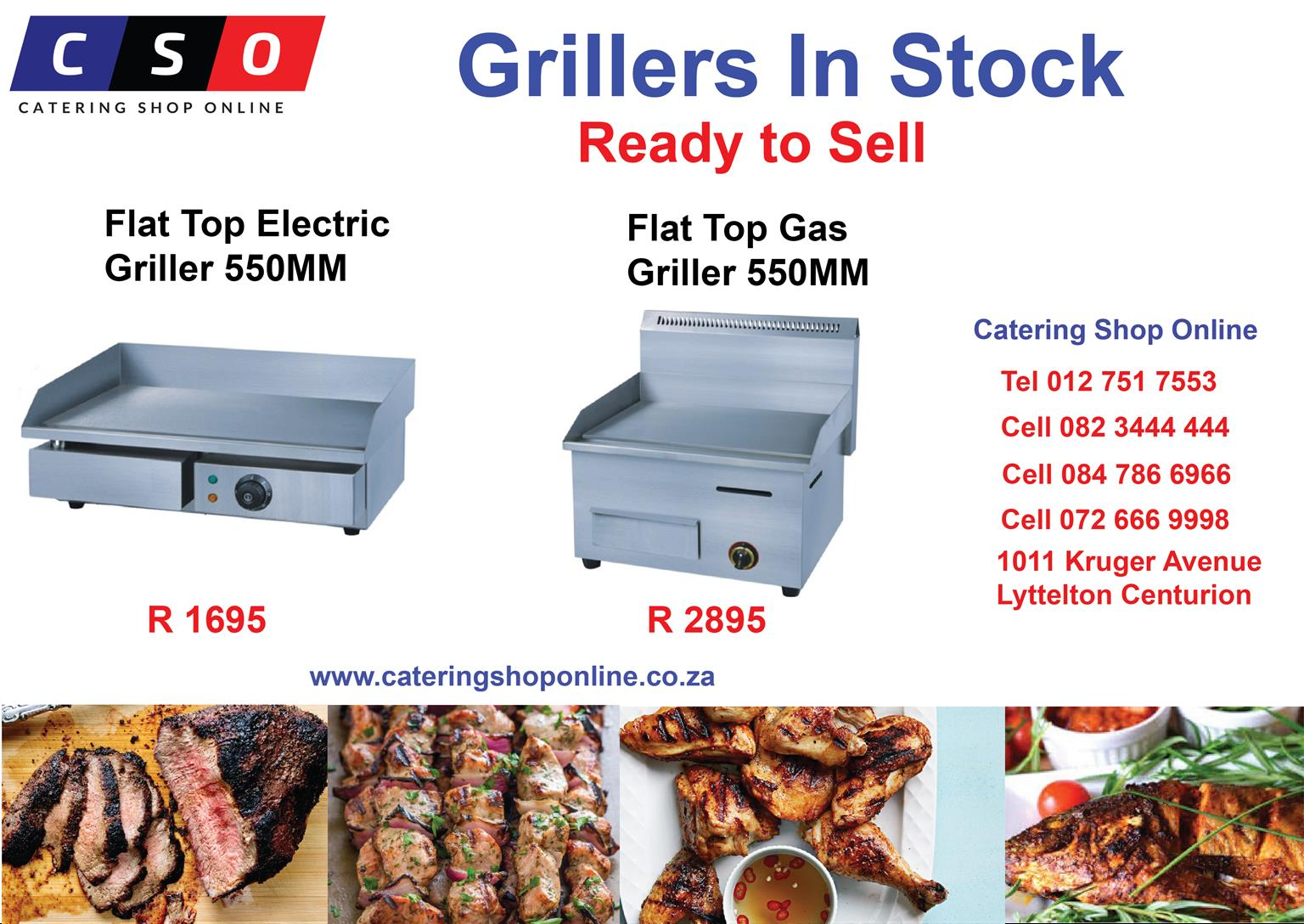 Grillers For Sale from R 1685