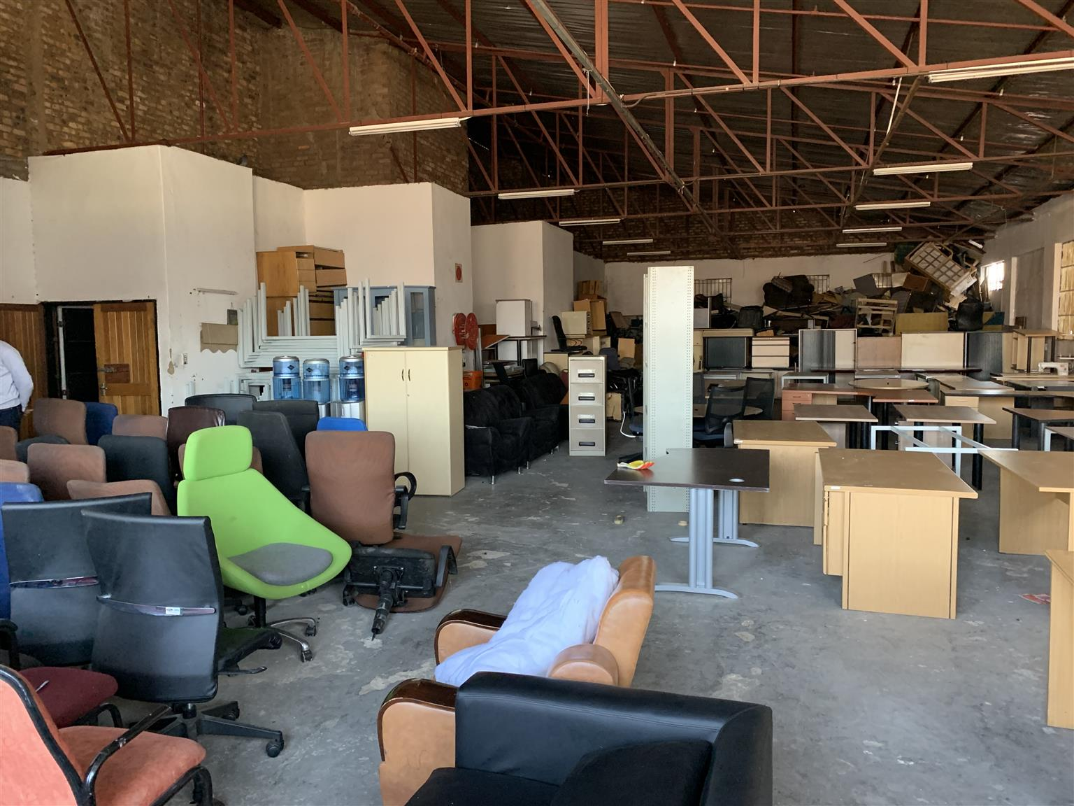 Ware house of office furniture to clear  take Everything, but need warehouse cleared , not pick and choose