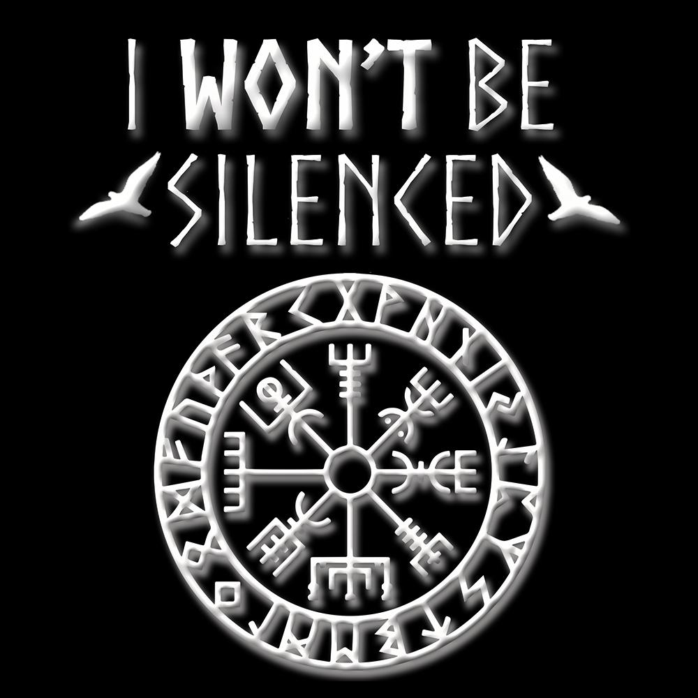 I won't be Silenced - Men's T-shirt  - Everbloom