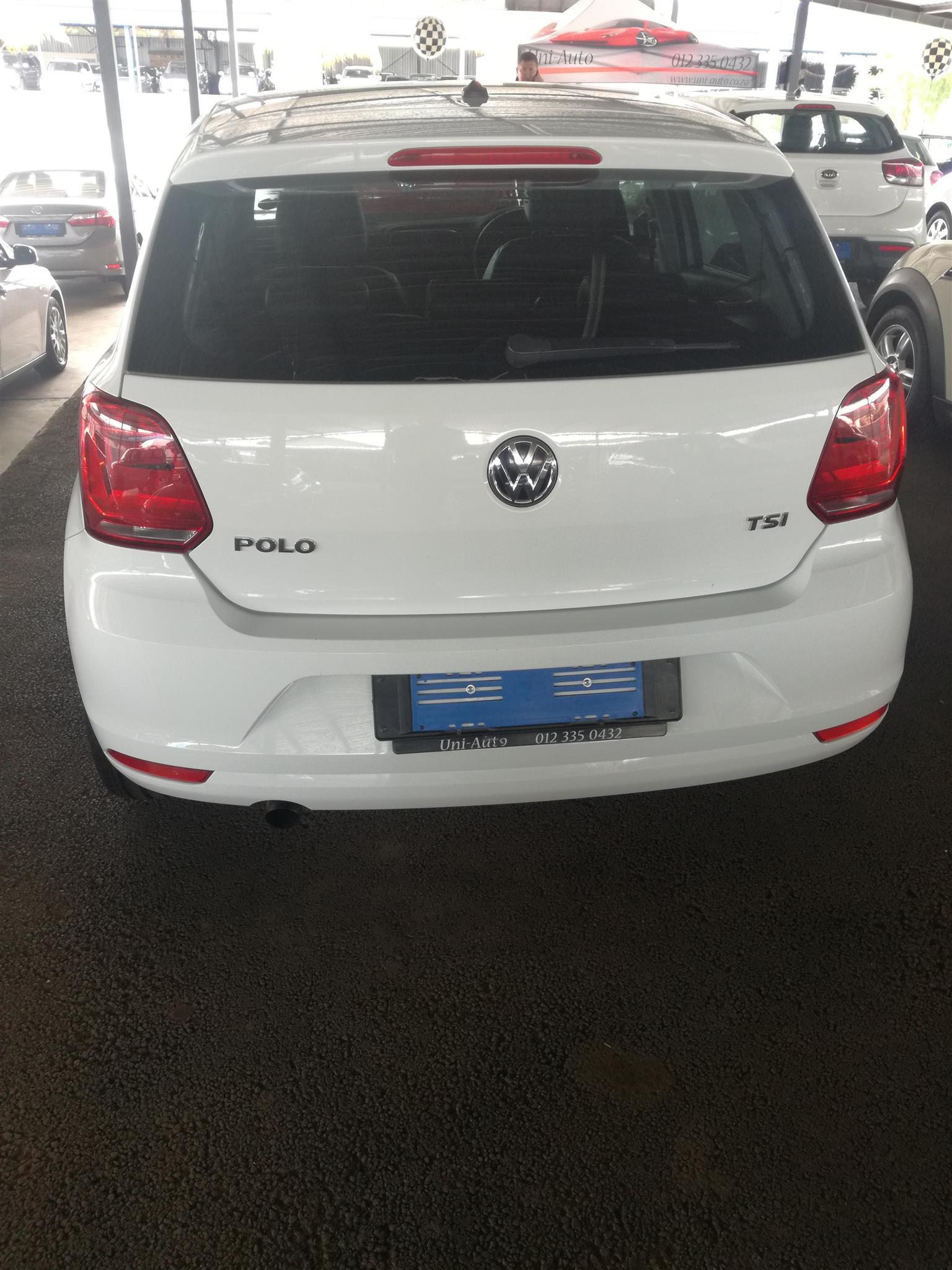 2015 VW Polo hatch POLO 1.0 TSI HIGHLINE DSG (85KW)