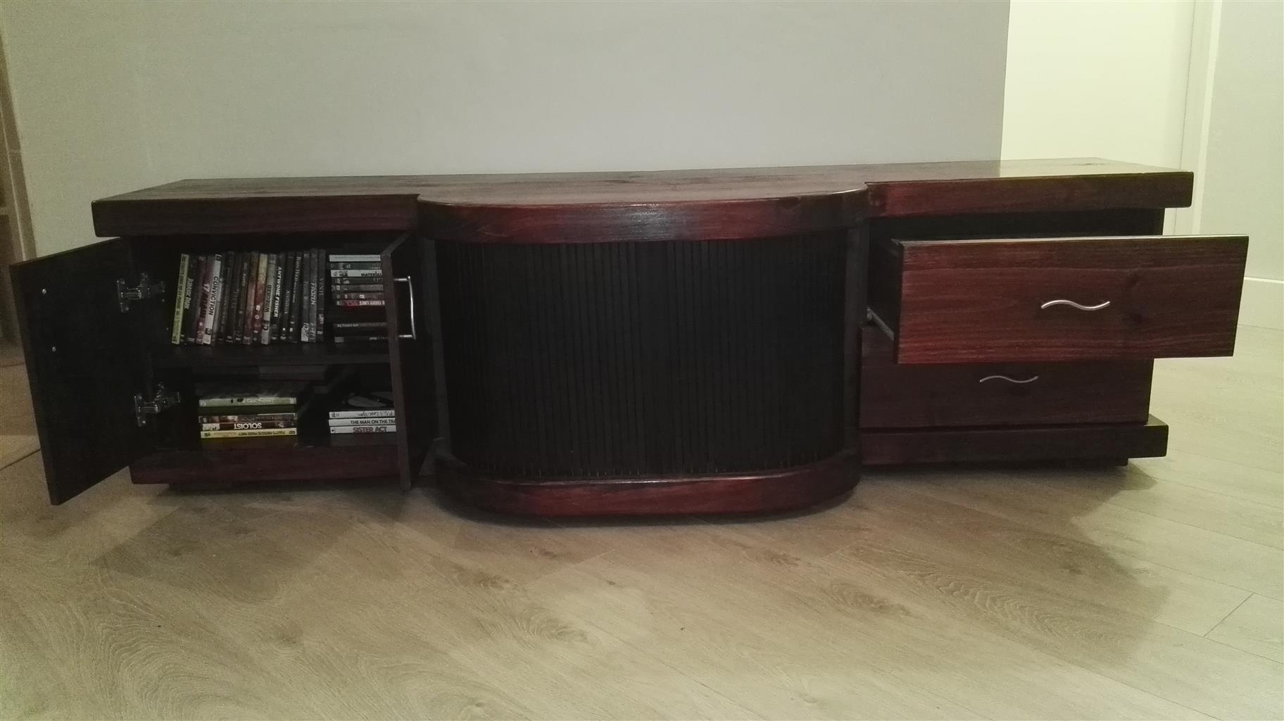 Solid Wood Plasma Unit