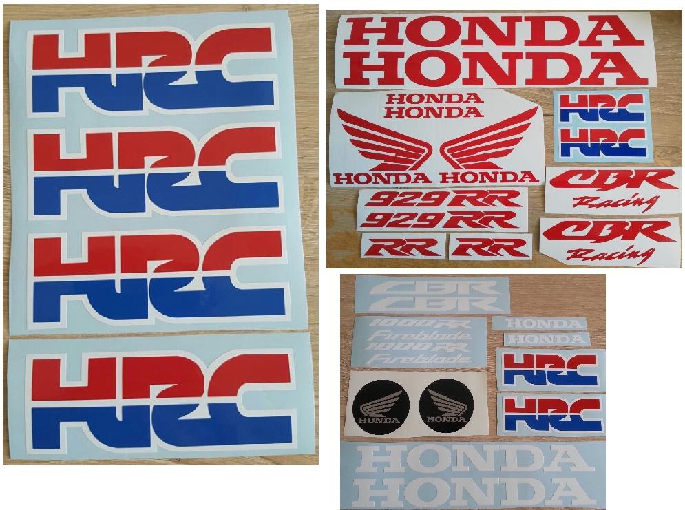 HRC stickers decals / vinyl cut graphics