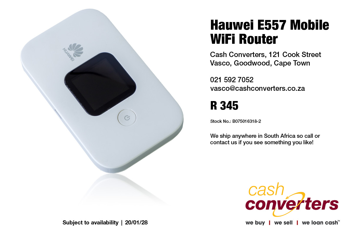 Hauwei E557 Mobile WiFi Router