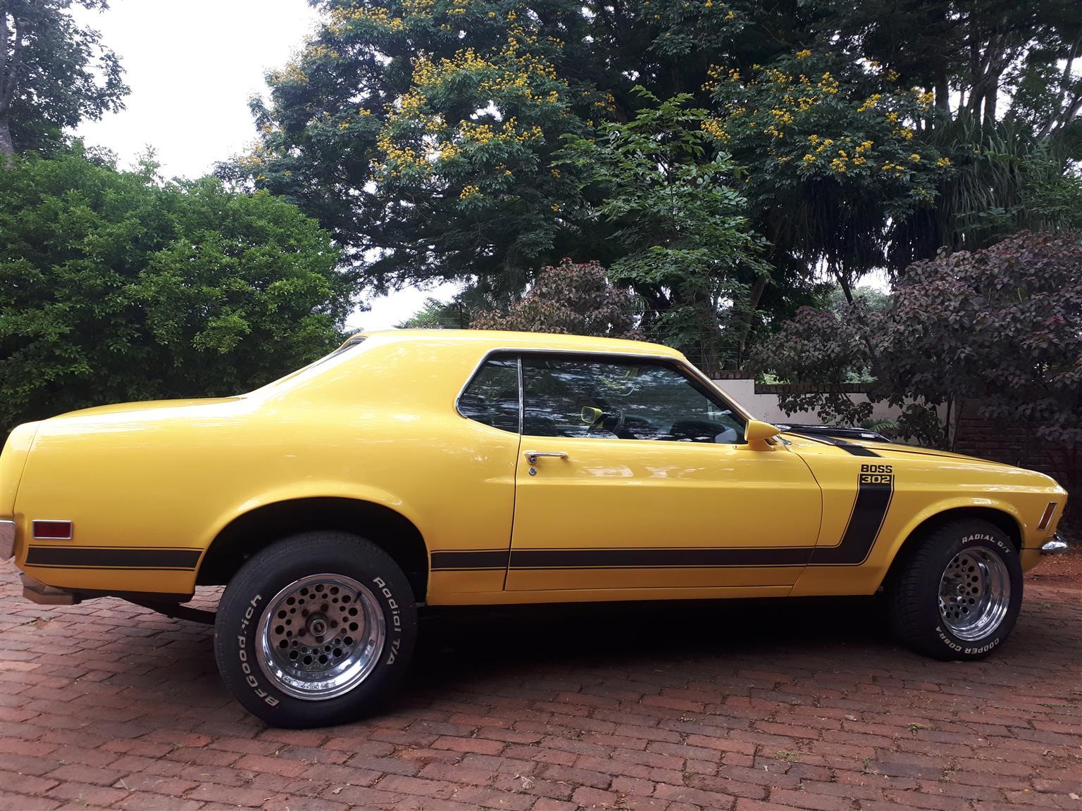 1970 Ford Mustang Grande
