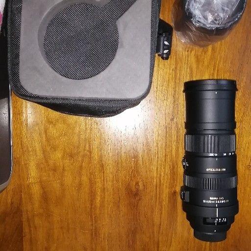 Sigma Lense 150 - 500mm for Nikon camera