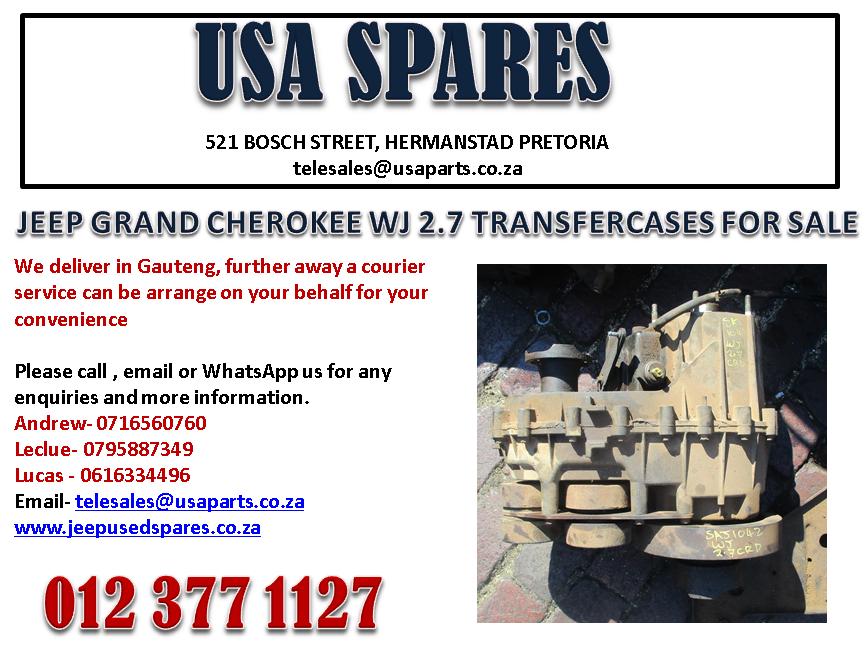 JEEP GRAND CHEROKEE WJ 2.7 TRANSFER-CASE FOR SALE