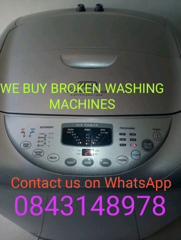 Broken Defy broken washing machine
